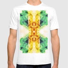 ONE STEP CLOSER White Mens Fitted Tee MEDIUM