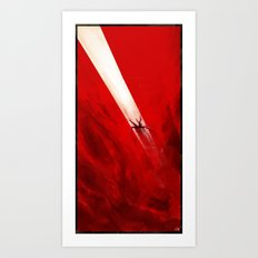 Fall of Lucifer Art Print