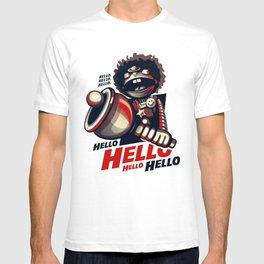 HELLO! HELLO! (white) T-shirt