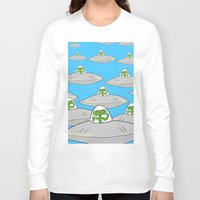 aliens Long Sleeve T-shirts featuring Aliens by David Abse