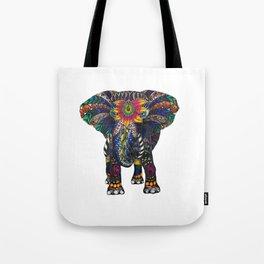 Spiritual Elephant Tote Bag