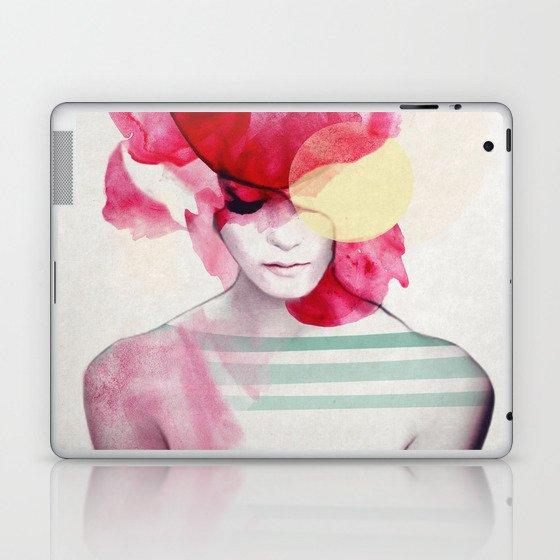 Bright Pink - Part 2 Laptop & iPad Skin