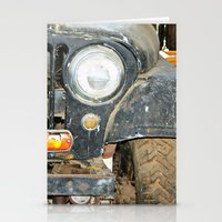 jeep Stationery Cards featuring Willie Jeep by Urlaub Photography
