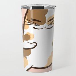 Karate Calico Travel Mug