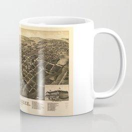 Aerial View of Tallahassee, Florida (1885) Coffee Mug