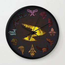Pacific Rim Kaiju Clock Wall Clock