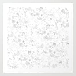 Tiger Jungle Art Print