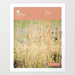 The Visual Mixtape 2010 | Fleet Foxes | 05 / 25 Art Print