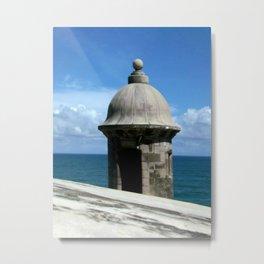Puerto Rico (The Garita) Metal Print