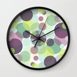 Candy Dots Wall Clock