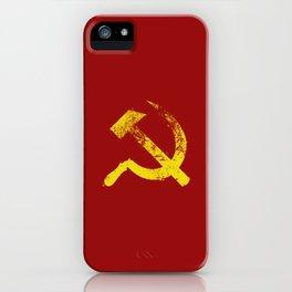 Used Communist Hammer Sickle iPhone Case