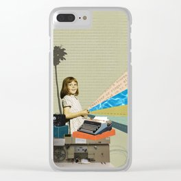 Everything was beautiful Clear iPhone Case