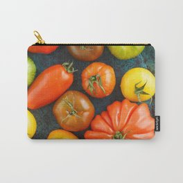 Various heirloom tomatoes Carry-All Pouch