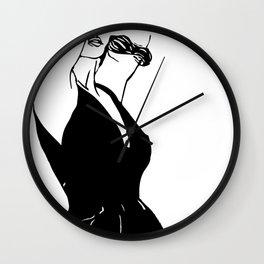 Le vent te portera Wall Clock