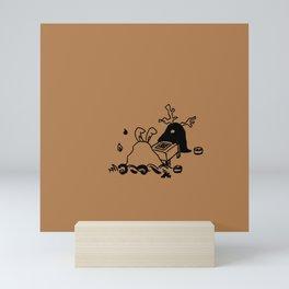 Go game - Loquat tea Mini Art Print