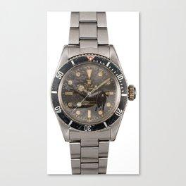 6538 Dive Canvas Print