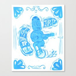 Joy Rider Canvas Print
