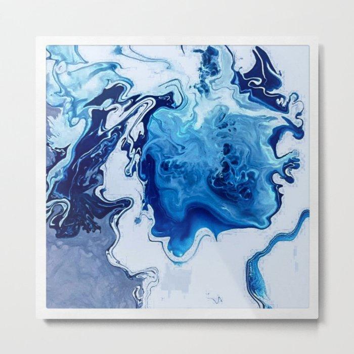 Windswept Seas Metal Print