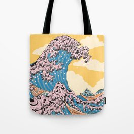 New Wave Great Wave Tote Bag