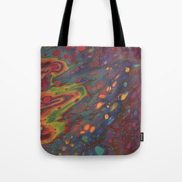 Paint Pouring 68 Tote Bag