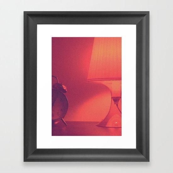 xuxu time Framed Art Print