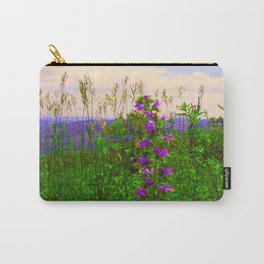 Delphinium Staphisagria Carry-All Pouch