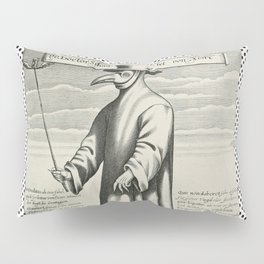Doctor PEST/PLAGUE/BLACK DEATH Pillow Sham