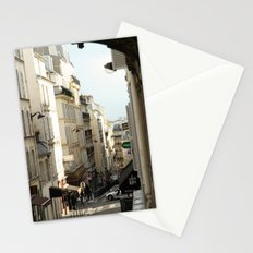 Montmartre, Paris Stationery Cards