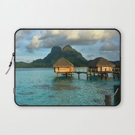 Bora Bora Tahiti Bungalow 2 Laptop Sleeve