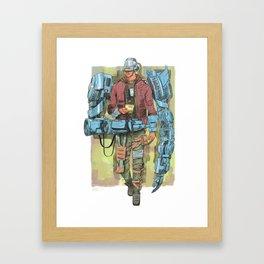 Tetrabrachius Framed Art Print
