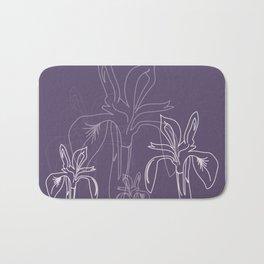 Baesic Purple Iris Bath Mat