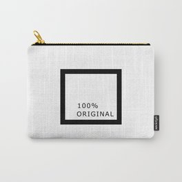 100 percent original Carry-All Pouch