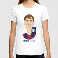 messi T-shirts featuring Messi Barcelona by Sport_Designs