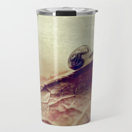 little snail Travel Mug