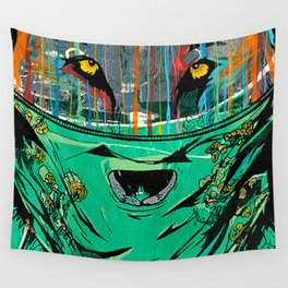 Wolf Mother - Screen Print Edition  Wall Tapestry