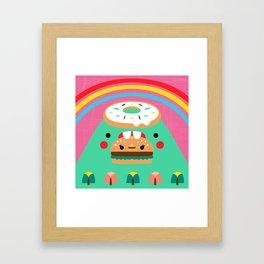 Hungry Mountain Framed Art Print