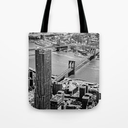 Brooklyn Bridge View - New York City Tote Bag