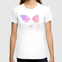 piglet T-shirts featuring Always Forever - Piglet by Sara Eshak
