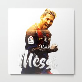 LEO--MESSI Metal Print