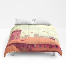 Portland Oregon Comforters