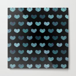 Cute Hearts II Metal Print