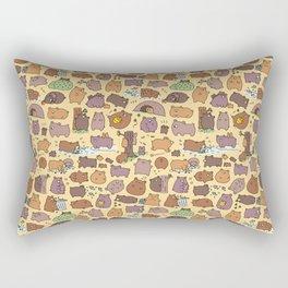 Beary Cute Bears Rectangular Pillow