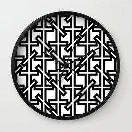 Geometric pattern 0206 1a Wall Clock