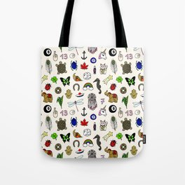 Lucky charms pattern Tote Bag