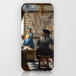 Johannes Vermeer Art of Painting iPhone Case