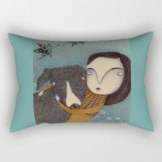 You and I Rectangular Pillow