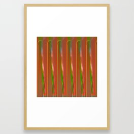 The other fence Framed Art Print