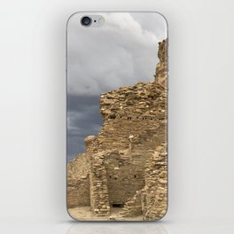 Chaco Canyon gathering Storm iPhone Skin