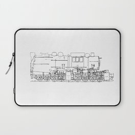 Sketchy train art Laptop Sleeve