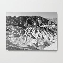 Zabriskie Point Metal Print